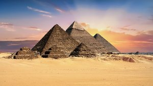 Egypt Monument Pyramids Giza Archeology